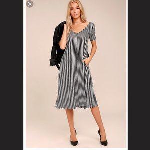 Cheap Monday casual midi swing dress